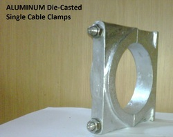 Cast Aluminum Single Cable Clamp