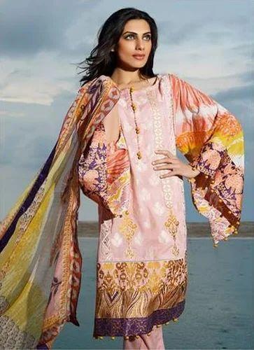 c0a99fd601 Designer Pakistani Suits - Designer Pakistani Embroidered Lawn Long ...
