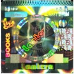 Colored E Beam Hologram