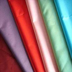 Plain Poly Silk Fabric