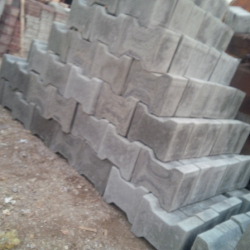 Interlocking Paver Tiles Heavy Duty Cement Concrete