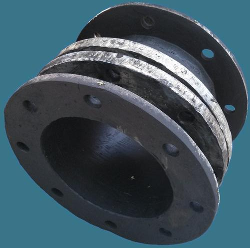 Rubber Bellow with Backup MS Rings & Flanges