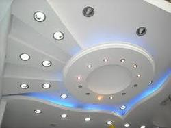 POP Designing Works POP Wall Design Plaster of Paris Ceiling
