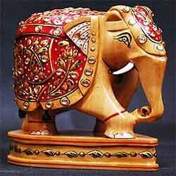 Elephant Handicrafts Bamboo And Wooden Handicrafts Bombay Gifts