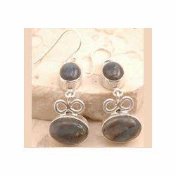 Labradorite Earrings Set