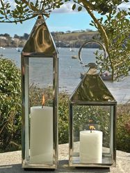 Stainless Steel Outdoor Lanterns