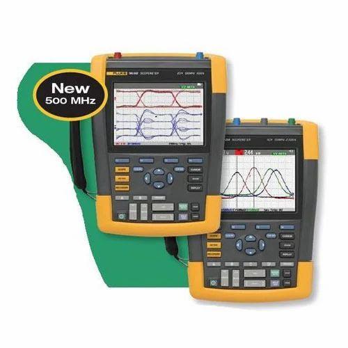 Fluke Scope Meter Oscilloscope, For Industrial, Rs 447740