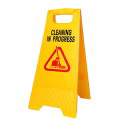 Caution Sigh Board and Cleaning Pads