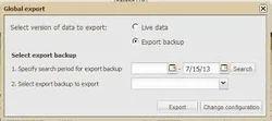 Global Export Data