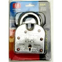 Solid Iron Padlock Ideal for Shutters
