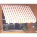 Striped  Window Awning