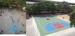Concrete Basketball Court Flooring