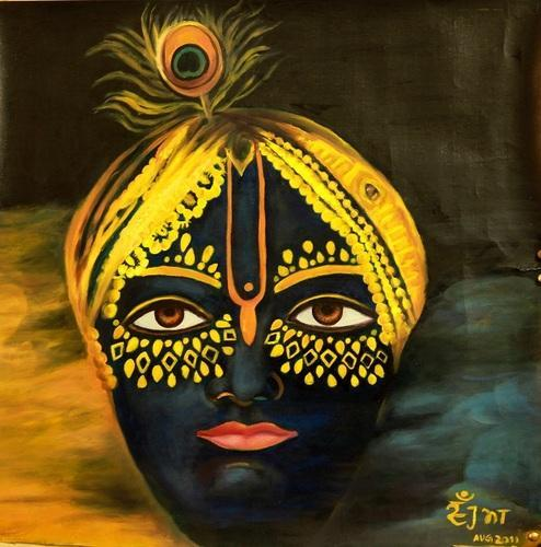 Abstract Paintings - Krishna Painting Manufacturer from ...