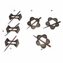 Wooden Shawl Pins
