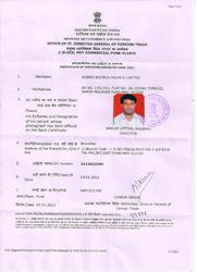 Certificate of Registration