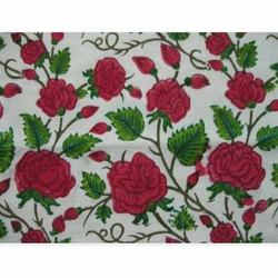 Fancy Cotton Printed Fabric