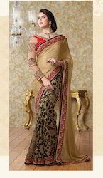 Embroidery Bridal Saree