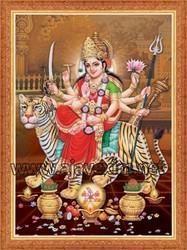 Sri Durga Devi Wall Poster