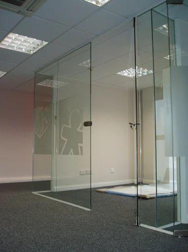 Frameless Glass Partition Installation Service Yadav