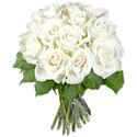 12white Roses Bunch