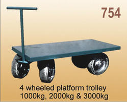 Four Wheel Platform Trolley