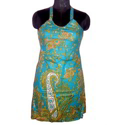 Halter Neck Short Kurta