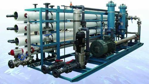 Seawater Desalination System, जल उपचार प्रणाली ...