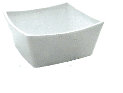 poly carbonate Square Bowl