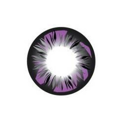 Feather Purple Color Contact Lens