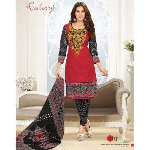 f2dca92faa Cotton Casual Printed Salwar Suits, Printed Salwar Kameez - Ethnic ...