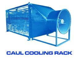 Aluminum Caul Cooling Fan Machines