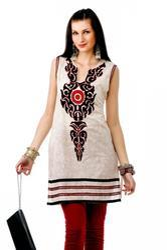 Designer Embroidery Kurti Tunic