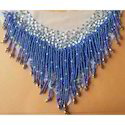 Glass Bead Embroidered Necklaces