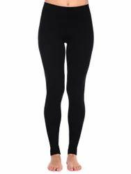 Straight Fit Plain Ladies Leggings