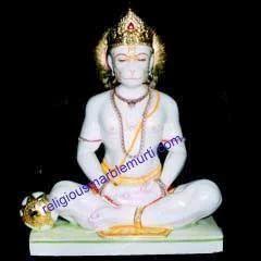 Lord Hanuman Marble Idols