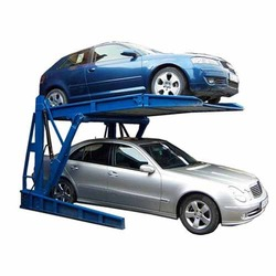Single Post Hydraulic Car Parking Lift