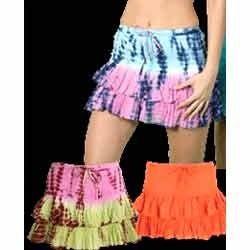 Plaid Mini Skirts