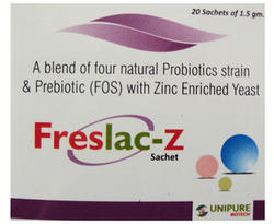 Natural Probiotics Strain and Prebiotic Zinc Enriched Yeast