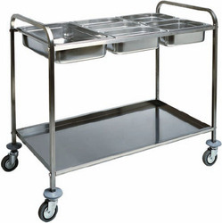 2 Tier Trolley With Gn Pan