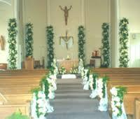 church decoration service - Church Decorations