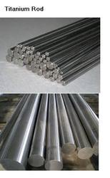 Titanium Round Bar for Manufacturing, Size: 1 to 200 mm