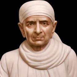 Swami Lila Sahib Marble Statue