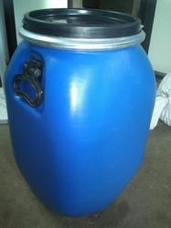 45 Ltr Full Open Top Plastic Drum