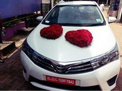 Wedding car decoration in thiruvananthapuram wedding car decoration junglespirit Choice Image