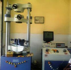 Universal Testing Machine. CAP. 200TONS