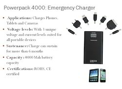 4000mAh Emergency Charger