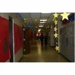 School Corridor Interior Designing