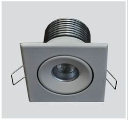 Surface Mounted Aluminium Square LED Fitting with Tilt, For Commercial