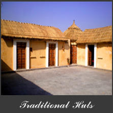 Traditional Huts Rental Service