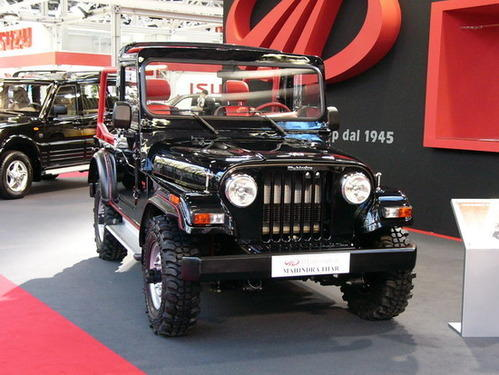 Mahindra Thar View Specifications Details Of Mahindra Cars By